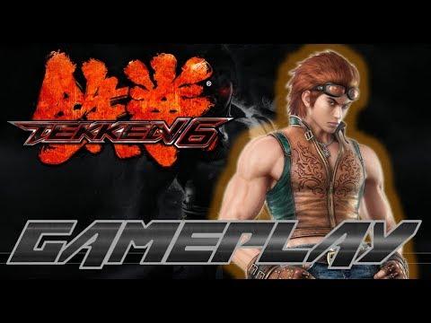 Tekken 6 Gameplay Arena (Story-Mode) (Xbox 360) - Hwoarang