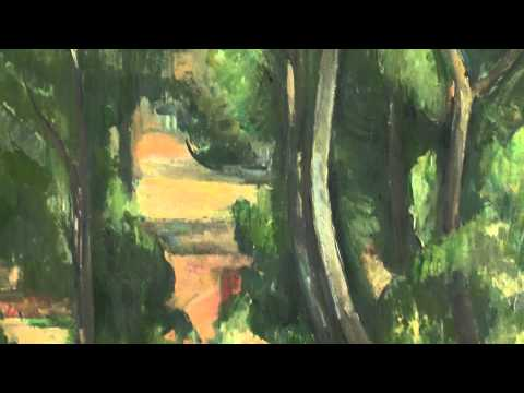 Paul Cézanne Paintings at The Thyssen Museum in Madrid : Post-Impressionism Art