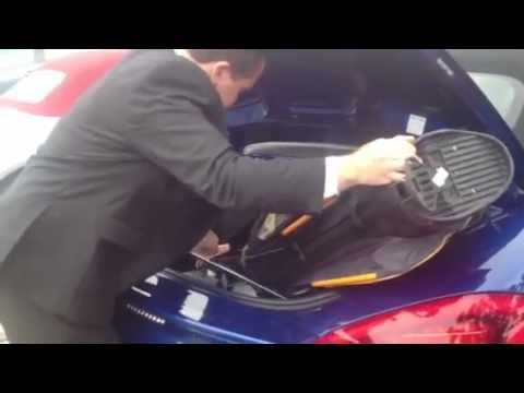 Golf Clubs In The New 2013 Boxster Youtube