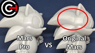 Elegoo Mars Pro vs Original Mars - Print Quality Test