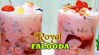 How to make Royal Falooda | Dessert Falooda | Falooda Recipe