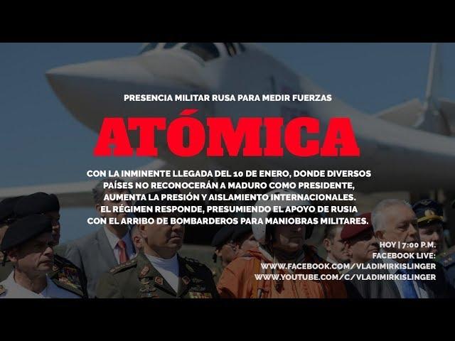 RUSOS EN VENEZUELA: LA RETÓRICA DEL ENEMIGO EXTERIOR  ANTE LA TRAGEDIA VENEZOLANA - PARTE 1