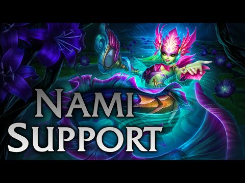 League of Legends | River Spirit Nami Support - Full Game Commentary