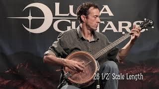 Luna Celtic 5 String Banjo Demo