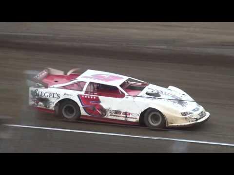 IMCA Late Model Heats Independence Motor Speedway 7/15/17