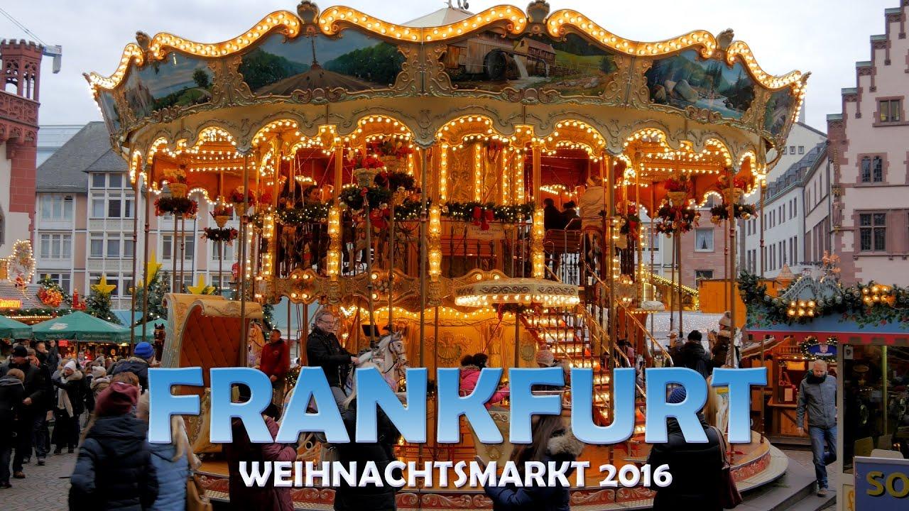 Weihnachtsmarkt Frankfurt Main.Visit The Big Christmas Market Frankfurt Am Main U Hd 4k