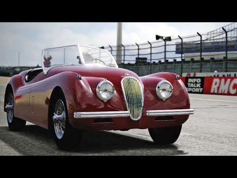 Forza Motorsport 4 - Jaguar XK120 SE 1954 - Test Drive Gameplay (HD) [1080p60FPS]