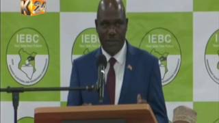 IEBC mock elections at Bomas: Wafula Chebukati Speech