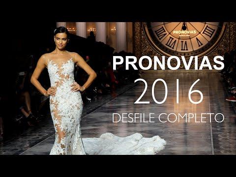 Desfile Pronovias 2016 Completo (con Irina Shayk)