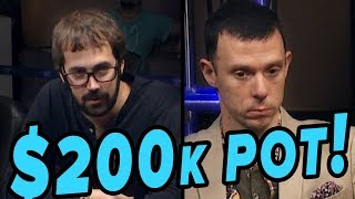 $200K Pot!!! Mercier VS Berkey | S5 E44 Poker Night in America