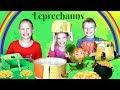 St. Patrick's Day Leprechaun Traps and Leprechauns