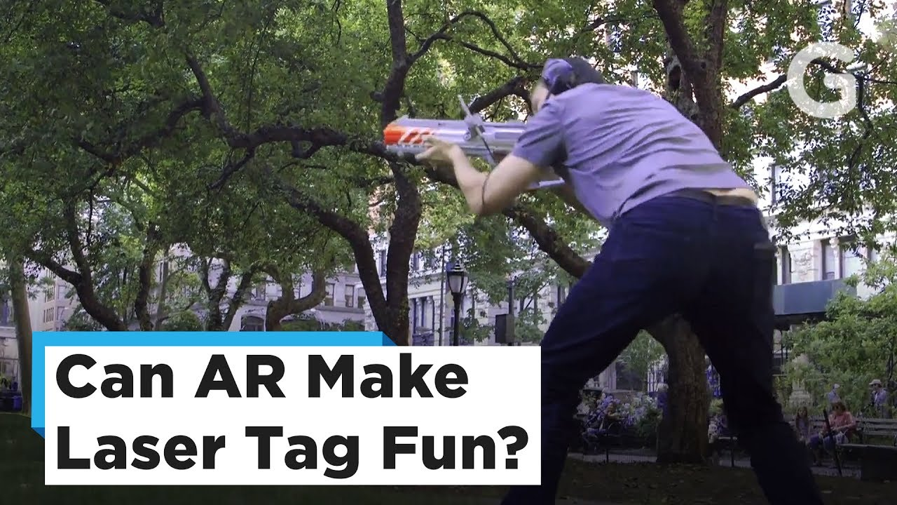 Could This New AR Game Make Backyard Laser Tag Actually Fun?