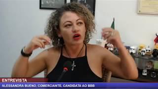 Diário ao Vivo - Entrevista com Alessandra Vieira, a BBB de Olímpia