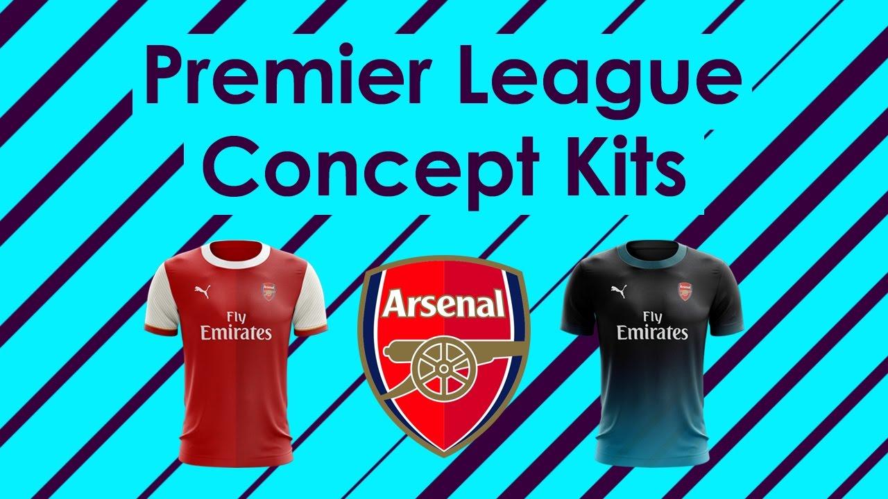 1e7f4ad04 Speed Art - Premier League Concept Kits  1 - Arsenal