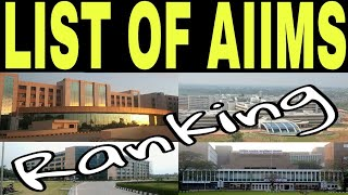 List of AIIMS Medical Colleges in India and Ranking