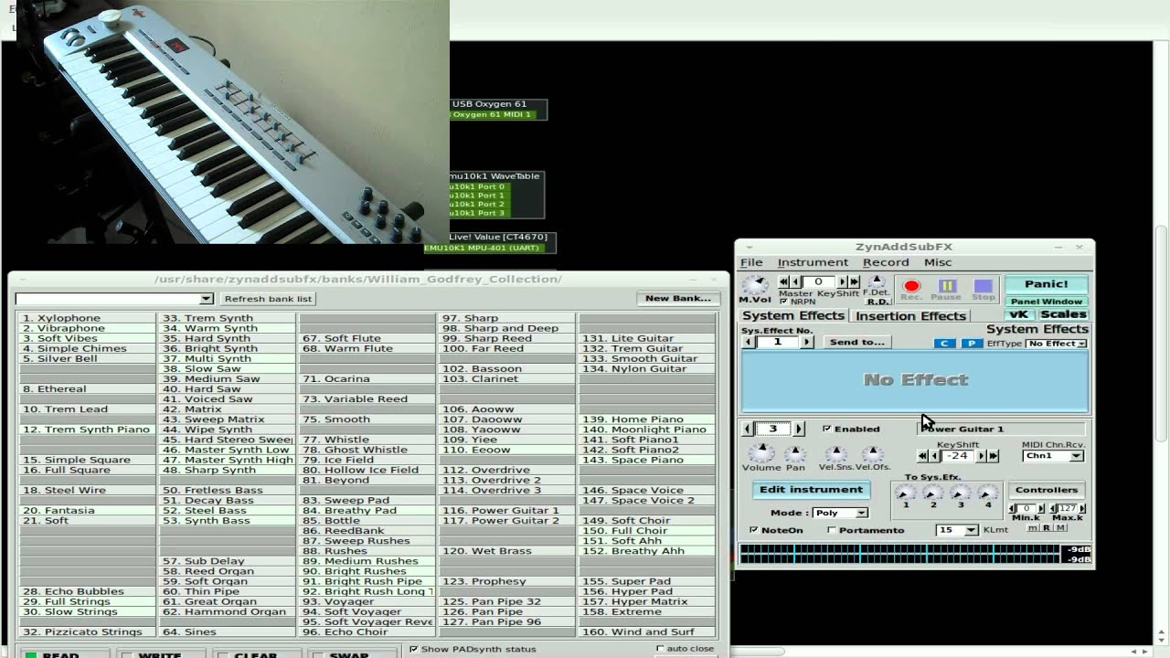 ZynAddSubFX - Layering Instruments - Synth - Linux