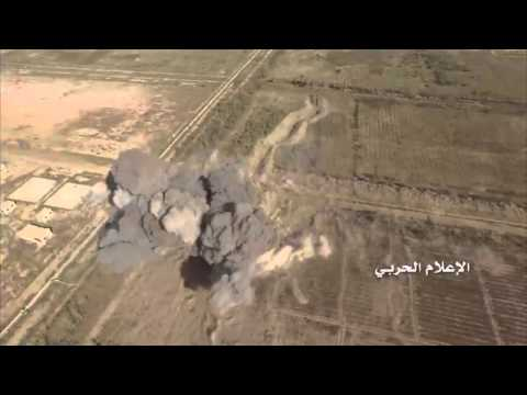 Syrian drone watches US missiles destroying ISIS tank in Deir Ezzor