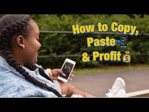 How To Copy & Paste Forex Trade Signals