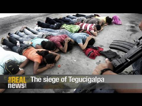 The siege of Tegucigalpa