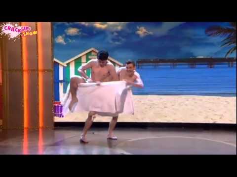 Videos Divertidos: Imperdibles videos divertidos de hombres desnudos bailando con toallas!