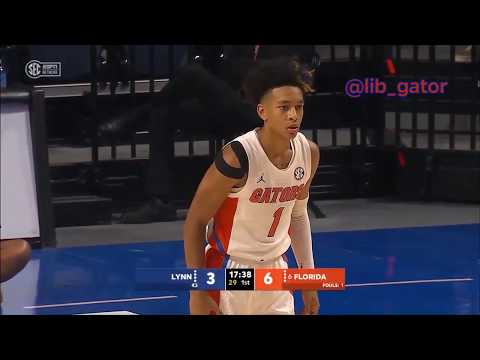 2019-20 Florida Gators Basketball Vs Lynn (Exhibition) Condensed