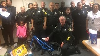 MAIN JAIL A-DAYS DEPUTIES GIVE BACK!