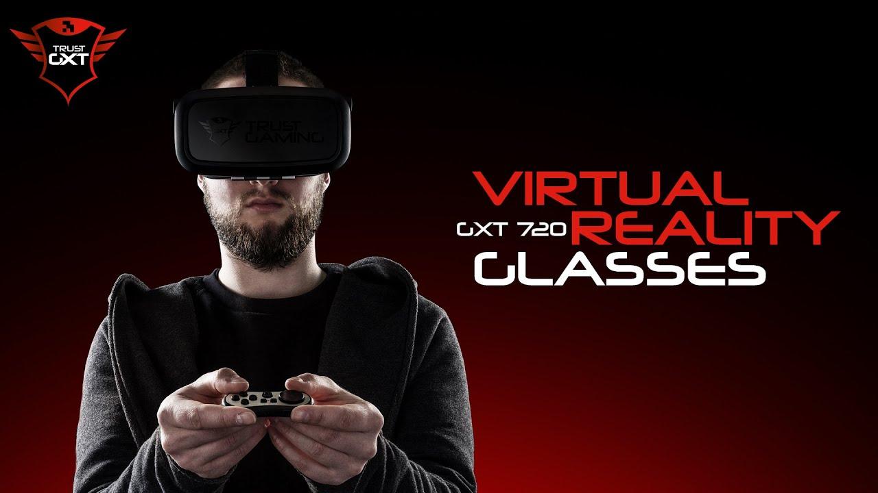 cf01b21ef Virtual Reality Gaming - Trust GXT 720 Gaming VR Glasses - YouTube