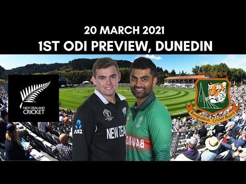 New Zealand vs Bangladesh 1st ODI Preview - 20 March 2021 | Dunedin