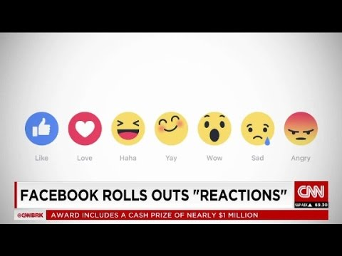 "Facebook goes beyond the Like button with ""Reactions..."