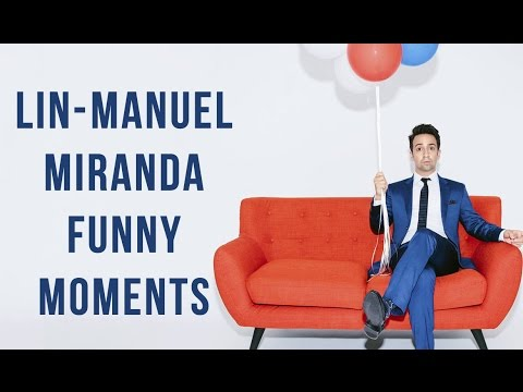 Lin-Manuel Miranda Funny Moments