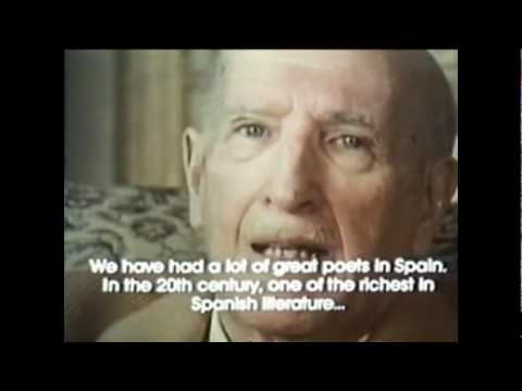 Vicente Aleixandre habla sobre García Lorca.flv