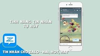 Hướng dẫn Zalo - Tin nhắn tự hủy