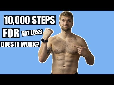 10,000 Steps A Day To Lose Fat Does it work?