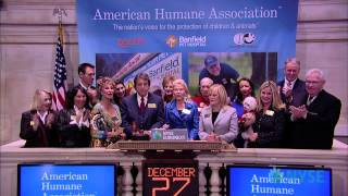 American Humane Association, Philanthropist Lois Pope Visits the NYSE