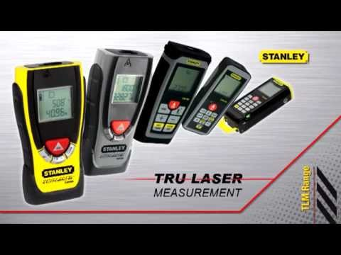 Dalmierze laserowe stanley seria tlm youtube