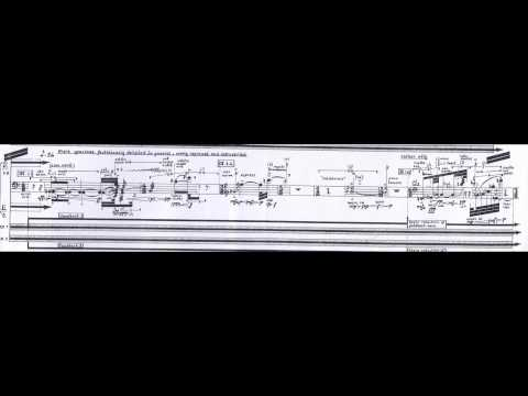 Brian Ferneyhough - Time and Motion Study II (w/ score) (for cello and electronics) (1973-76)