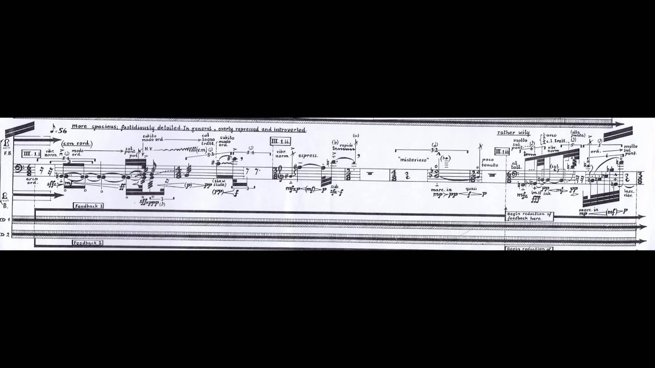 ferneyhough time and motion study in pdf