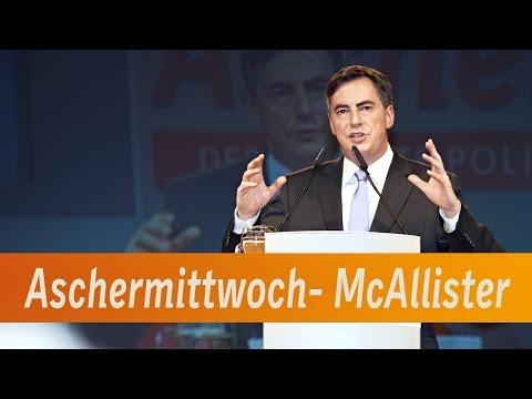 McAllister beim Politischen Aschermittwoch 2014