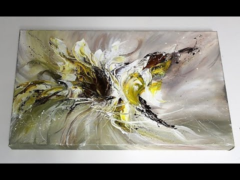 Acrylmalerei/Einfach Malen/Acrylic Painting/Easy Painting/V123-Demo/Weightless