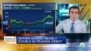 Affirm Shares Nearly Double In Trading Debut