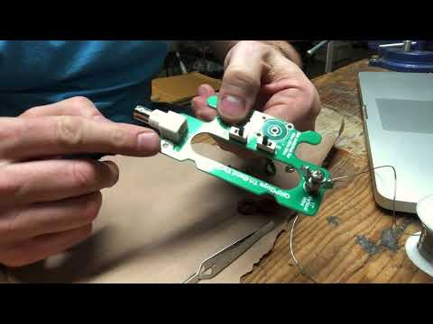 Building The QRPGuys Portable 40-30-20m Tri-Band Vertical Antenna