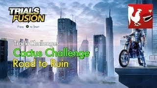 Trials Fusion - Cactus - Road to Ruin Track Challenge