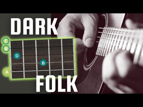 Dark Folk Guitar - Drone Shapes, Picking Patterns