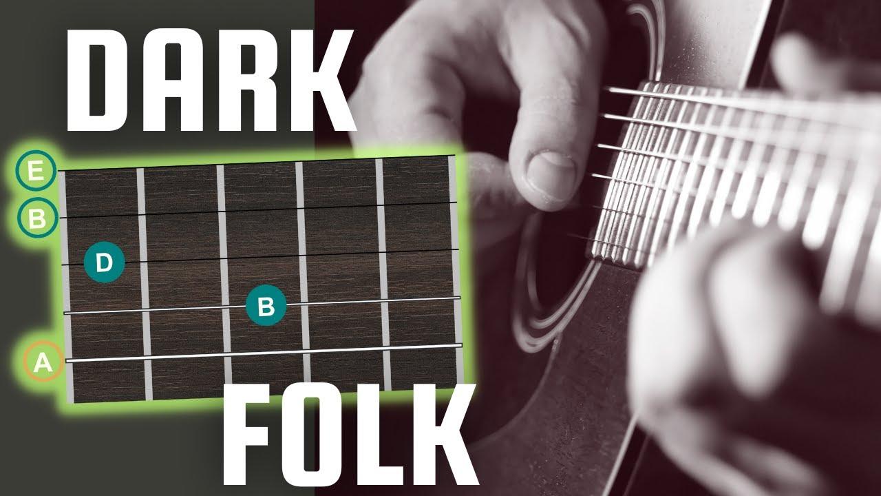 Dark Folk Guitar Drone Shapes Picking Patterns Youtube