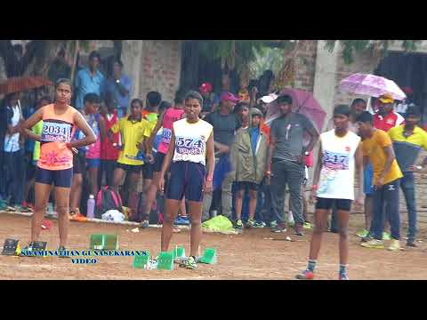 GIRL'S U16  100m  FINAL. 31st TAMILNADU  STATE  JUNIOR  ATHLETICS  CHAMPIONSHIPS-2017.