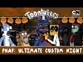 FNAF: ULTIMATE BLACKHAT NIGHT! | Toontubers | Cartoon Network