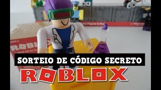 ROBLOX TOY WITH SECRET CODE TO WIN ITEM