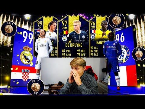 FIFA 19: XXL 300€ EXPERIMENT 😱 TOTY MITTELFELD PACK OPENING  WALKOUT ESKALATION