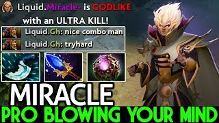 Miracle- [Invoker] This Combo Blowing Your Mind Pro Gameplay 7.21 Dota 2