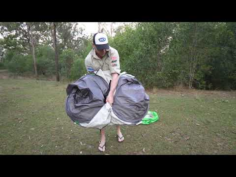 BCF - Coleman Pop up Tent Packdown